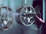 Новые технологии окраски литых дисков
